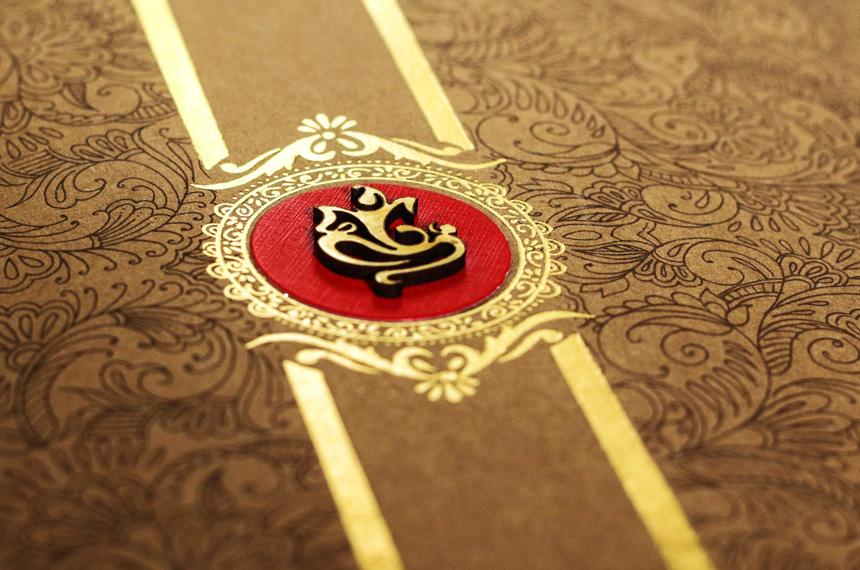 Indian elite wedding invitation designer studio | Teal Mauve Crimson
