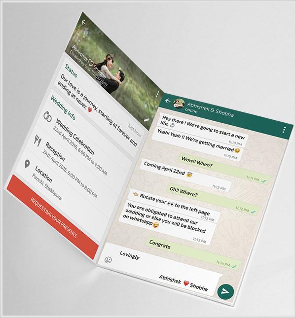 Online Whatsapp Invitations